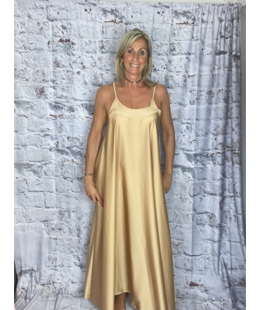 ROBE BRODERIE LILAS